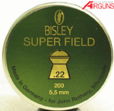 Bisley Super Field Pellets (.22)
